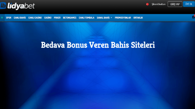Bedava Bonus Veren Bahis Siteleri